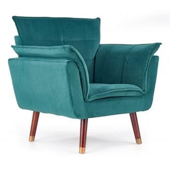 Fotel Rezzo - ciemnozielony