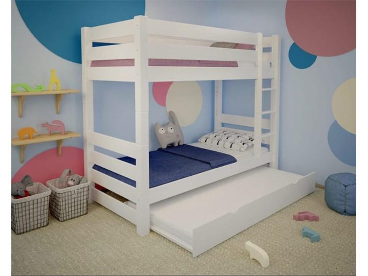 łóżko Piętrowe Jan Plus Białe łóżka Piętrowe Zdjęcia