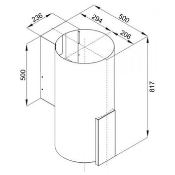 VDB TUBE P IX Glass