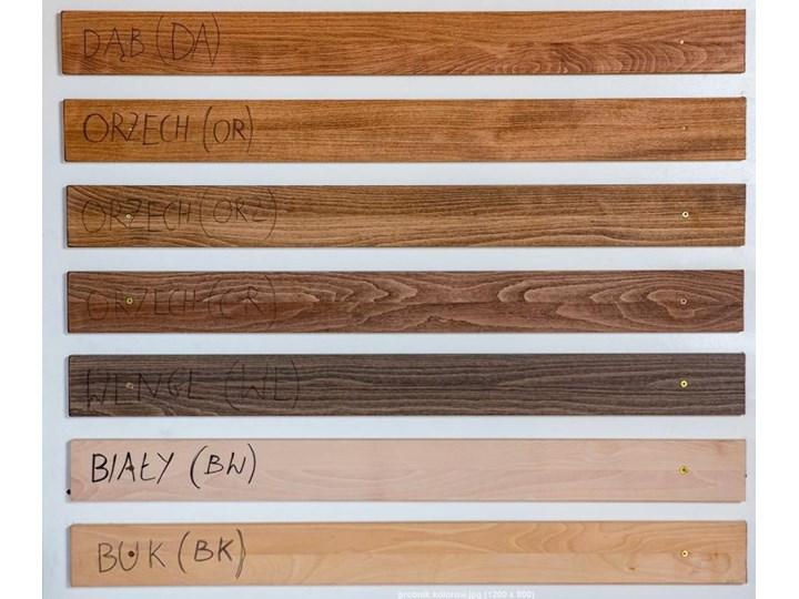 Ballega łóżko bukowe lewitujące 160x200 cm w kolorze jasny orzech Łóżko drewniane Kategoria Łóżka do sypialni Pojemnik na pościel Z pojemnikiem