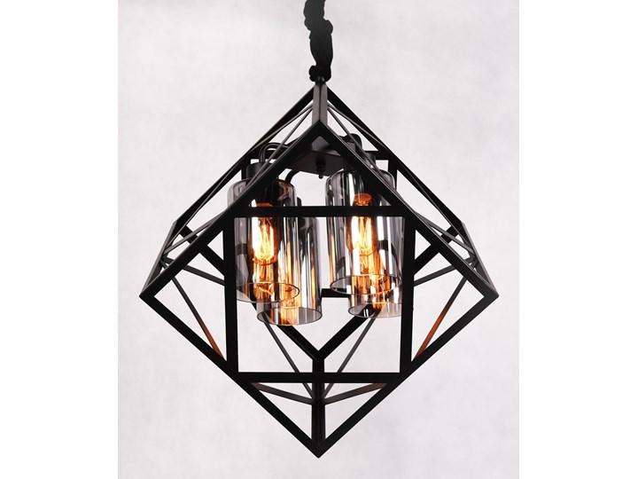 NOWOCZESNA LAMPA WISZĄCA LOFT BRUTTE Stal Lampa druciana Szkło Metal Kategoria Lampy wiszące