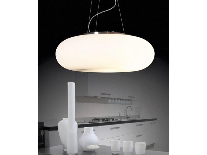 NOWOCZESNA LAMPA WISZĄCA BIANTE D50 Lampa z kloszem Szkło Metal Lampa z abażurem Styl Nowoczesny