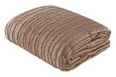 Dekoracyjna narzuta pikowana na łóżko Crushed 200x250 ciemny beż