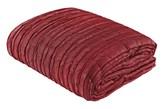 Bordowa narzuta ozdobna na łóżko Crushed 200x250 pikowana