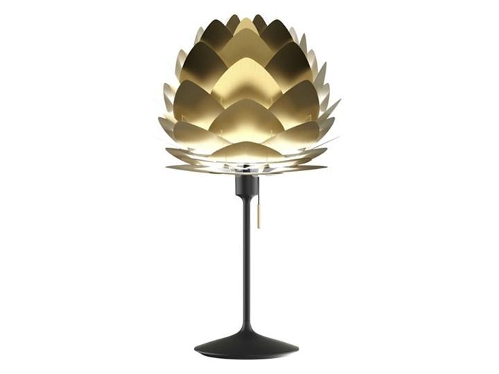 ALUVIA MINI CHAMPAGNE-Lampa stojąca wtyczka USB Aluminium Ø40cm