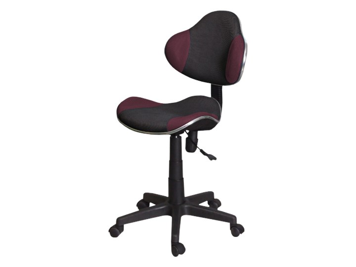 Fotel biurowy Morild czarno-fioletowy
