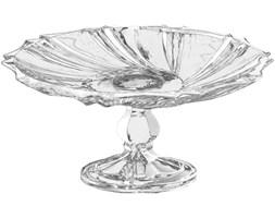 Kryształowa patera,  okrągła ze szkła Ø, 28 cm