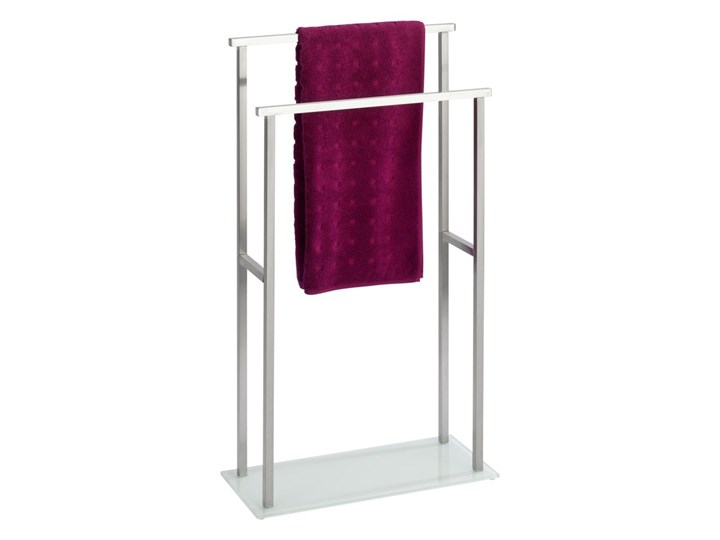 Regał łazienkowy Butler Wenko, dwupoziomowy, stojak na ręczniki z dwoma poziomami Wieszaki na ręczniki Wolnostojący