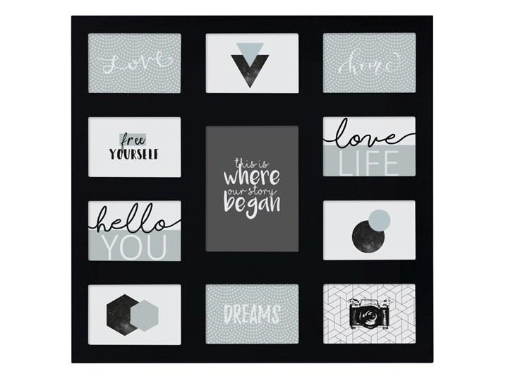 Ramki na zdjęcia, kolaż,11 elementów, kolor czarny, Atmosphera