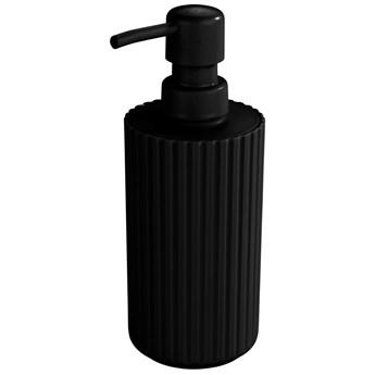 Dozownik do mydła w płynie, Minas, kolor czarny