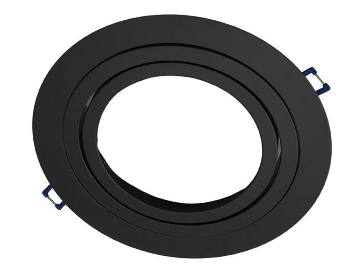 Pojedyncza ruchoma podtynkowa oprawa ES111 AR111 QR111 czarna matowa czarny mat aluminiowa Okrągłe Oprawa halogenowa Oprawa led Oprawa stropowa Oprawa ruchoma Kategoria Oprawy oświetleniowe