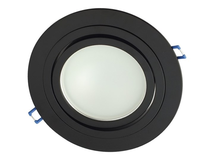 Pojedyncza ruchoma podtynkowa oprawa ES111 AR111 QR111 czarna matowa czarny mat aluminiowa Oprawa led Oprawa stropowa Okrągłe Oprawa halogenowa Oprawa ruchoma Kategoria Oprawy oświetleniowe