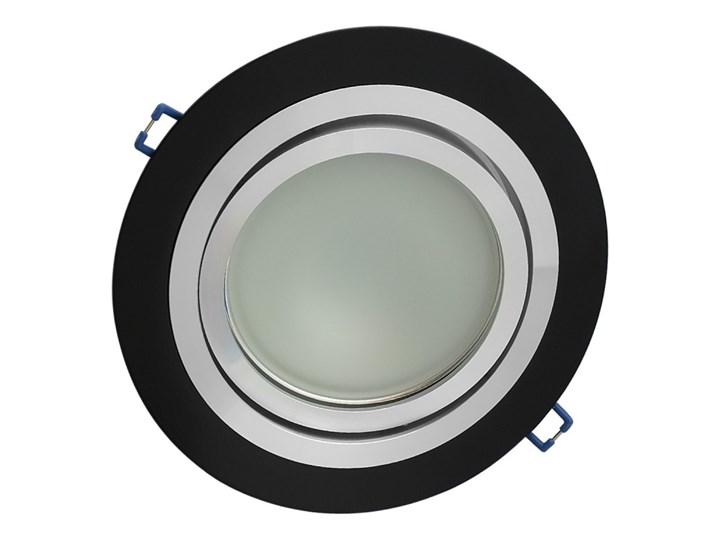 Pojedyncza ruchoma podtynkowa oprawa ES111 AR111 QR111 czarna matowa czarny mat aluminiowa Oprawa ruchoma Oprawa led Okrągłe Oprawa stropowa Oprawa halogenowa Kategoria Oprawy oświetleniowe