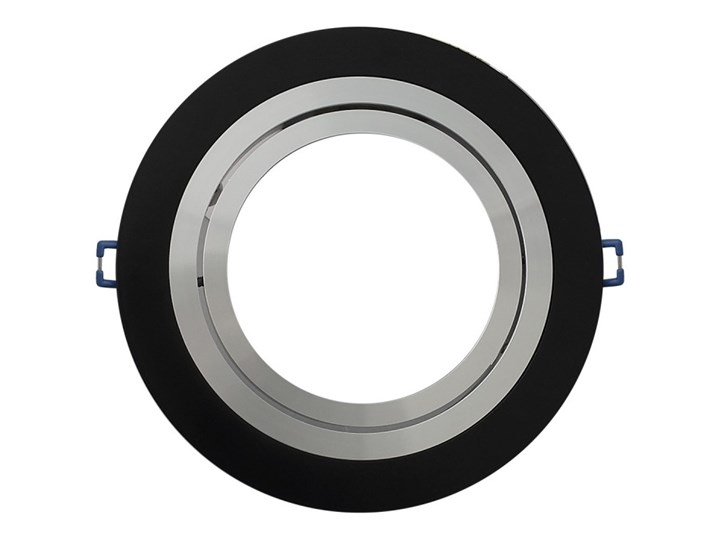 Pojedyncza ruchoma podtynkowa oprawa ES111 AR111 QR111 czarna matowa czarny mat aluminiowa Oprawa led Oprawa ruchoma Okrągłe Oprawa halogenowa Oprawa stropowa Kategoria Oprawy oświetleniowe