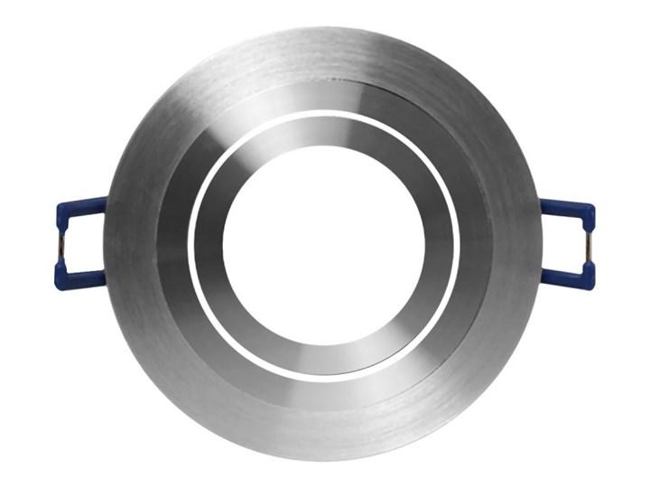 Okrągła round movable fixture sufitowa ruchoma podtynkowa oprawa MR16 GU10 GU5.3 aluminium Oprawa stropowa Oprawa halogenowa Oprawa led Okrągłe Oprawa ruchoma Kategoria Oprawy oświetleniowe