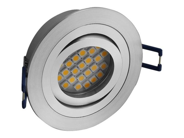 Okrągła round movable fixture sufitowa ruchoma podtynkowa oprawa MR16 GU10 GU5.3 aluminium Oprawa halogenowa Oprawa stropowa Oprawa led Oprawa ruchoma Kategoria Oprawy oświetleniowe Okrągłe Kolor Szary