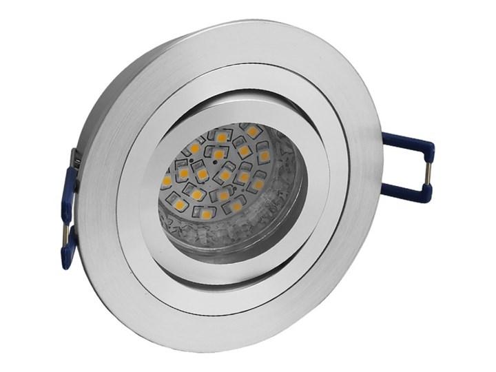 Okrągła round movable fixture sufitowa ruchoma podtynkowa oprawa MR16 GU10 GU5.3 aluminium Oprawa ruchoma Oprawa halogenowa Kategoria Oprawy oświetleniowe Oprawa led Okrągłe Oprawa stropowa Kolor Szary
