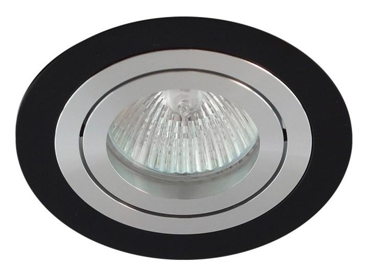 Okrągła round movable fixture sufitowa ruchoma podtynkowa oprawa MR16 GU10 GU5.3 aluminium black matt Okrągłe Oprawa halogenowa Oprawa LED Oprawa ruchoma Oprawa stropowa
