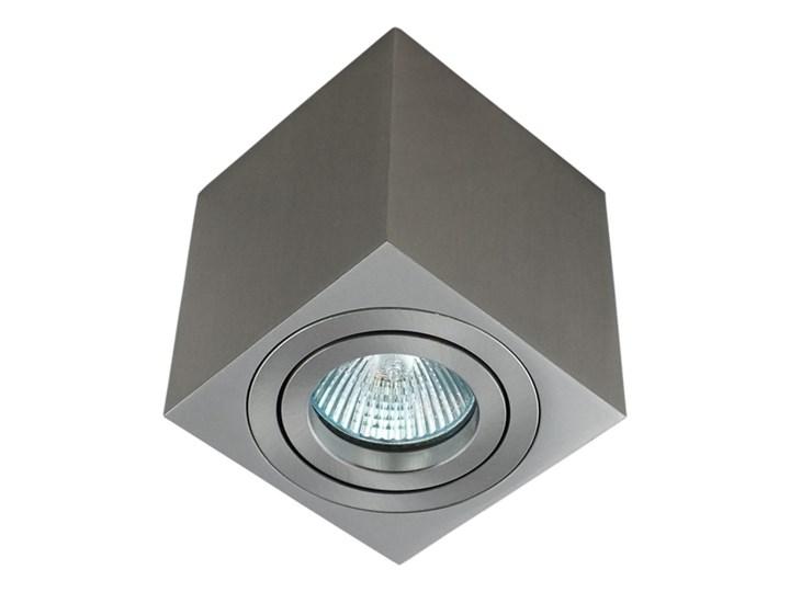 Oprawa natynkowa duce kostka aluminiowa satyna satynowa HDL103ST Kategoria Oprawy oświetleniowe Oprawa stropowa Oprawa halogenowa Kwadratowe Kolor Szary