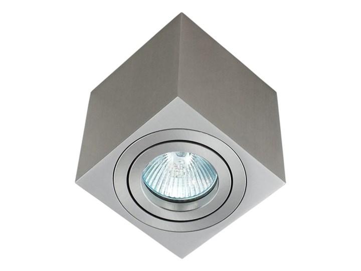 Oprawa natynkowa duce kostka aluminiowa satyna satynowa HDL103ST Kwadratowe Oprawa halogenowa Oprawa stropowa Kategoria Oprawy oświetleniowe