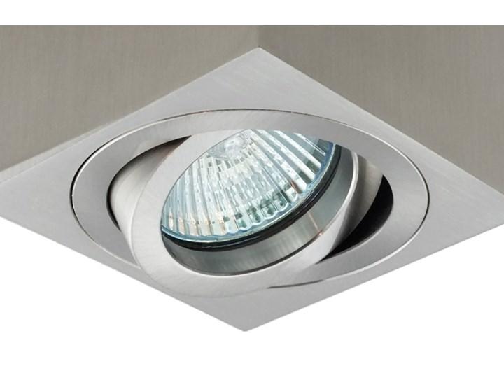 Oprawa natynkowa duce kostka aluminiowa satyna satynowa HDL103ST Oprawa stropowa Oprawa halogenowa Kwadratowe Kategoria Oprawy oświetleniowe Kolor Szary