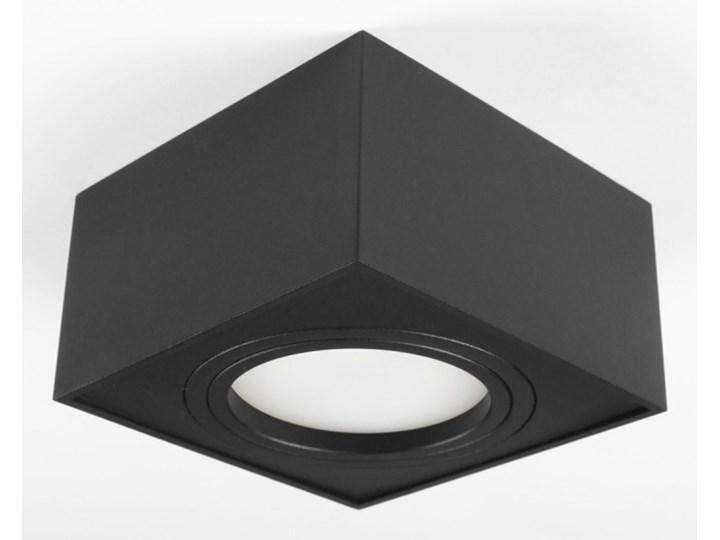 Nowoczesna oprawa sufitowa GX53 kwadrat ruchoma czarna czarny mat aluminiowa Kwadratowe Oprawa ruchoma Oprawa stropowa Oprawa halogenowa Oprawa led Kategoria Oprawy oświetleniowe