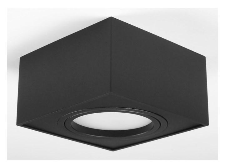 Nowoczesna oprawa sufitowa GX53 kwadrat ruchoma czarna czarny mat aluminiowa Kwadratowe Oprawa led Oprawa ruchoma Oprawa stropowa Oprawa halogenowa Kategoria Oprawy oświetleniowe