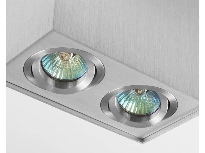 Nowoczesna podwójna sufitowa oprawa natynkowa prostokąt MR16 aluminium aluminiowa GU10 Prostokątne Oprawa stropowa Oprawa led Oprawa halogenowa Kategoria Oprawy oświetleniowe