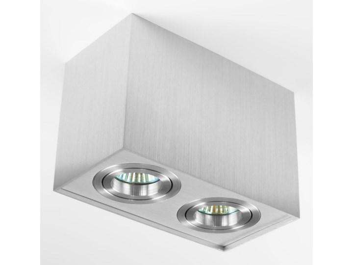 Nowoczesna podwójna sufitowa oprawa natynkowa prostokąt MR16 aluminium aluminiowa GU10 Oprawa stropowa Oprawa halogenowa Prostokątne Oprawa led Kategoria Oprawy oświetleniowe