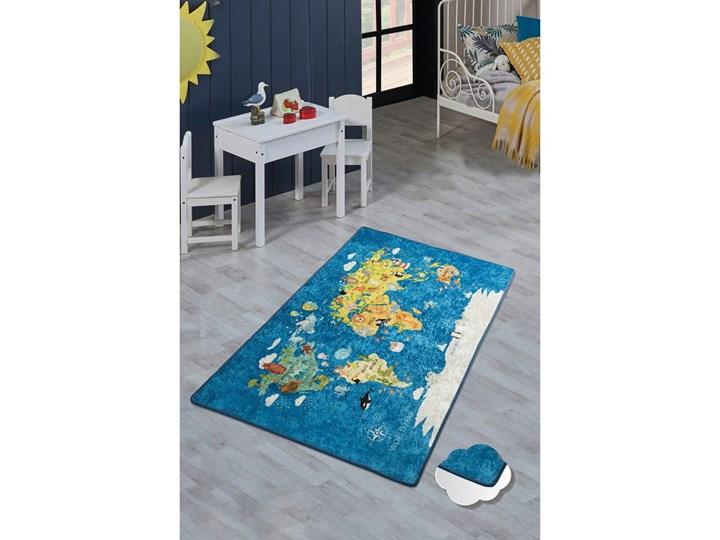 Dywan Dla Dzieci World Map 200x290 Cm