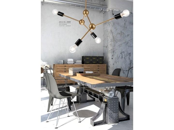 Alessia lampa wisząca 4-punktowa srebrna Lampa inspirowana Funkcje Brak dodatkowych funkcji Metal Stal Kategoria Lampy wiszące