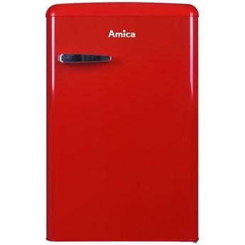 Lodówka AMICA KS15610R Retro 86cm Czerwona