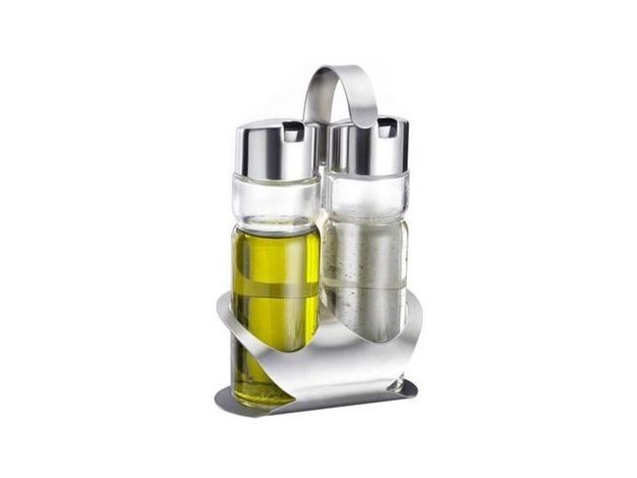 Przyprawnik WESTMARK 65042260 Pojemnik na ocet i oliwę Stal nierdzewna Szkło Zestaw do przypraw Kategoria Przyprawniki Kolor Biały