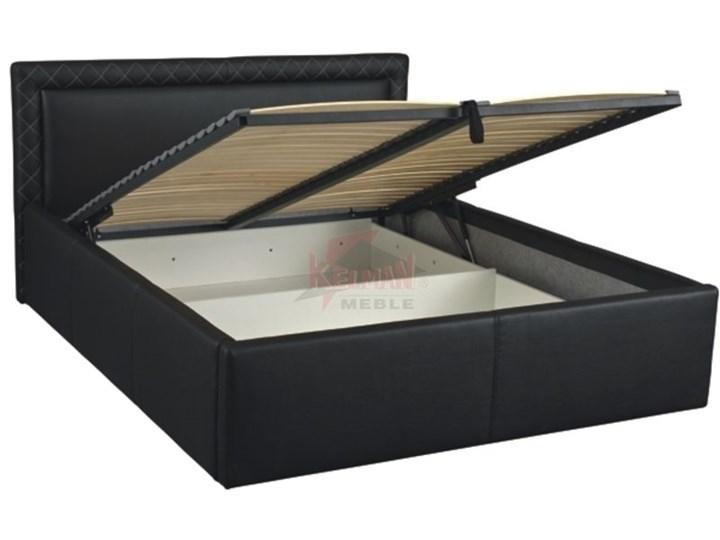 łóżko Tapicerowane Wysokie Pik Lozp140wbm 140x200 Z Pojemnikiem