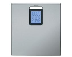 Brabantia Bathroom Scales waga łazienkowa z zegarem - cyfrowa, stal