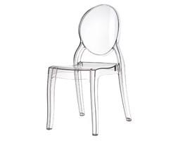 Przezroczyste krzesło ELIZABETH