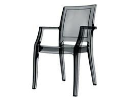 Stylowe przezroczyste krzesło - ARTHUR