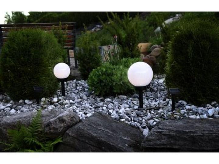 Solarna lampa ogrodowa LED Best Season Globe Stick, ⌀ 20 cm Lampa solarna Lampa LED Kolor Czarny
