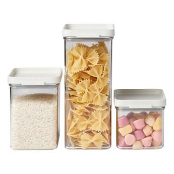 Pojemniki kuchenne zestaw 3szt. Omnia white 106400032500 kod: 10640003
