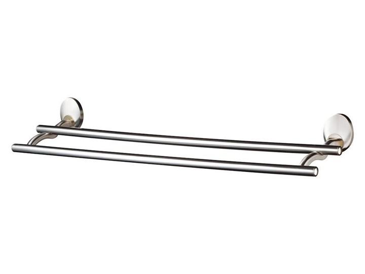 03577 PASSION WIESZAK KĄPIELOWY PODWÓJNY 610 MM SATYNA / NIKIEL / ZŁOTO Aluminium Ścienny Aluminium