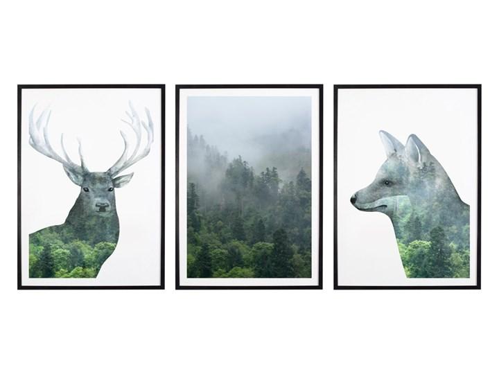 Tryptyk Forest 1 - Plakaty w ramach (3x 30x40cm)