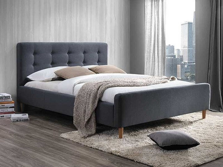 Łóżko PINKO 160 szare