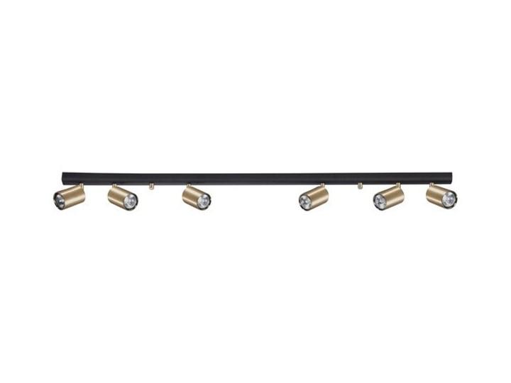 Listwa sufitowa kinkiet EYE SPOT BRASS VI mosiądz szer. 119cm