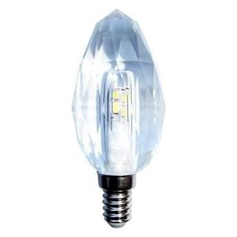 Żarówka LED E14 4,3W neutralna 4000K ozdobna kryształowa