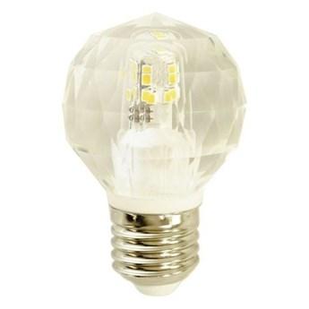 Żarówka LED E27 4,3W neutralna 4000K ozdobna kryształowa kulka
