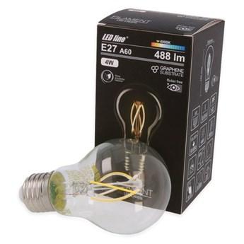 Żarówka FILAMENT LED E27 8W neutralna 4000K bańka