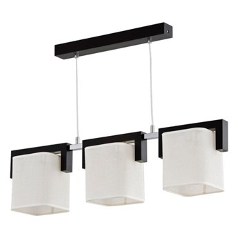 Nowoczesna lampa SAMUEL wenge szer. 70cm