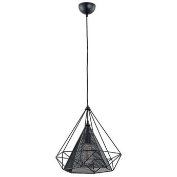 Lampa sufitowa NET BLACK czarna 36cm