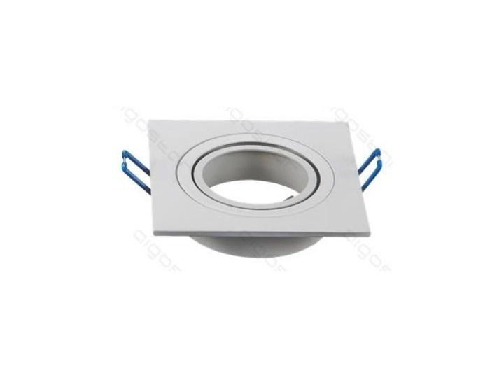 Spot oczko biała KWADRAT oprawka GU10 / MR16 Oprawa stropowa Oprawa meblowa
