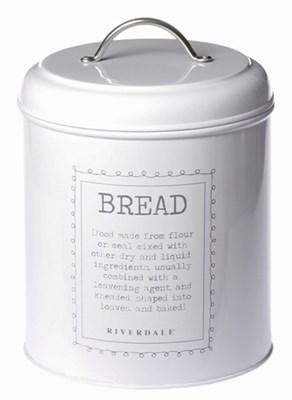 Pojemnik na chleb Vintage white